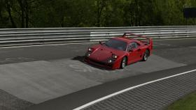 Ferrari F40 entering the Karussell GT5