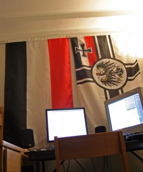 Obsolete German flags.